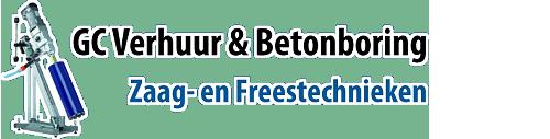 GC Verhuur en betonboring zaag- en freestechniek